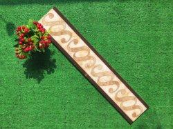 Vitrified Porzellan Fliesen Grenze für Home Decoration (800 * 150mm)