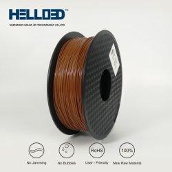 倍数の直接卸売ABS/PLA 3Dの印刷のフィラメントは虹のフィラメントを着色する
