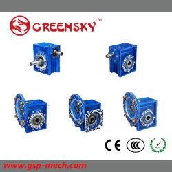 Riduttore a bassa velocità del contenitore di riduttore della scatola ingranaggi dell'attrezzo di velocità della vite senza fine di Nmrv Nrv RPM