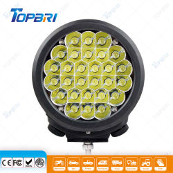 7 pouces de la conduite de Moto LED lampe laser 90watt remorque de camion auto des feux de travail de voiture