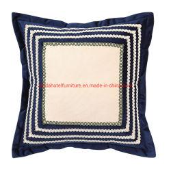 Zhida Textiles Hotel Project Bettwäsche Velvet Steppung Polsterung Kissen für Wohnzimmer