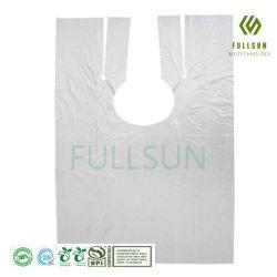 قابل للتفسّخ حيويّا بلاستيكيّة مستهلكة غطاء مئزر لباس [تثف] تصديق ضجيج [إن13432] كلّيّا طبع عادة 100% مئزر [كمبوستبل] واقية