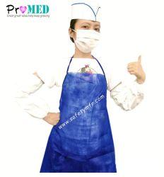 Медицинские и хирургические/промышленности/кухня/ресторан/Кухонные/стоматологов/печати/нетканого материала/PP/полимерная/PVC/SMS/PE/пластик/Set/защиты одноразовые водонепроницаемый фартук