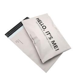 El embalaje biodegradable de color transparente de paquetería express Courier bolsas de plástico de la Junta Folleto de venta al por mayor impresas personalizadas