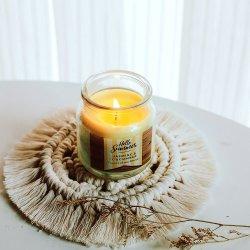 Cuerda de algodón tejida amor posavasos alfombrillas comida diaria de las pastillas de aislamiento térmico de productos creativos de pequeñas