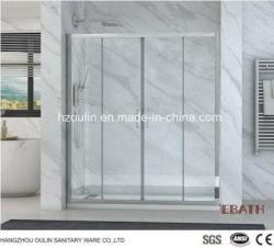 Receptáculo de ducha de cristal porcelana sanitaria simple ducha