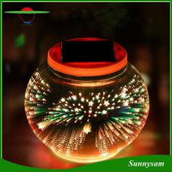 Design de fogo de artifício 3D Fada Globo Solar decorativos para festas de Luz