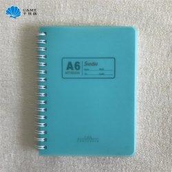 A6 A5 B5 B6 pp. Draht-Notizbuch-Anmerkungs-Buch der Belüftung-gewundenes Miniausgabe-O