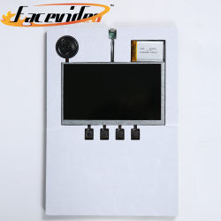 Personnalisé de gros de haute qualité HD 4.3 5 A4 de 7 pouces LCD couleur TFT Brochure Vidéo de module lecteur de carte avec mousse EVA