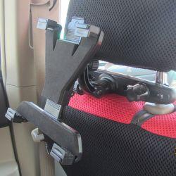 Entretenido asiento trasera del coche de titular de la tableta de Apple iPad 2 Mini de aire