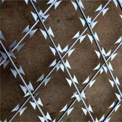 Sicherheits-Schutz-Zaun geschweißtes Rasiermesser-Stacheldraht-Ineinander greifen