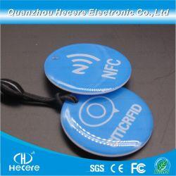 최신 Smart Crystal Card/RFID Key Fob 에폭시 RFID 카드 에폭시 RFID 태그