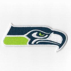 Kundenspezifische Seahawks Stickerei ändert Eisen auf Sport gestickten Änderungen am Objektprogramm für Hut