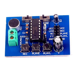 Dsi1820 Module de carte vocale Blue version PCB (on board Microphone) Module d'enregistrement sonore