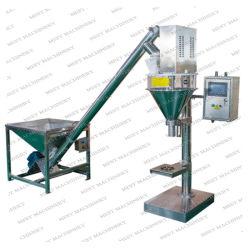 Poudre sèche semi-automatique Machine de remplissage avec la vis convoyeur / Manuel Petits micro du doseur de poudre de prix de remplissage de vis de vidange d'additifs