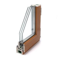 Профилем ПВХ для окна окно затвора жалюзи UPVC профиль является водонепроницаемым ПВХ профилей Windows /UPVC профиль окна/пластиковые окна рамы