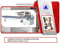 Verpakkende Machine van de Stroom van de Hoge snelheid van China de Automatische