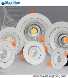 3W 5W LED de iluminação de tecto de poupança de energia para baixo na luz de tecto LED Light/ Baixar as atenções Luminária embutida luz para baixo