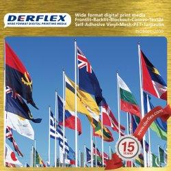 Farbsublimation Poster Advertising Fabric Digital Printing Flag Fabric