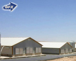 China Popular Steel Structure Control Shed Geflügel Farming Warehouse Chicken Farm Building