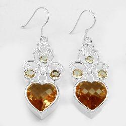 Ювелирные изделия моды Morganite Earring пружины