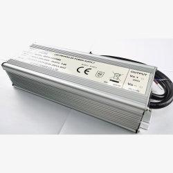 200-240 В, 12В постоянного тока 25 А 300W алюминиевый корпус светодиодный драйвер питания трансформатора водонепроницаемая IP68 с 3 лет гарантии
