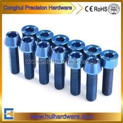 Gr5 소켓 모자 또는 수액 채취기 맨 위 티타늄 놀이쇠 파랑