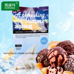 Usine de crème glacée molle, poudre d'alimentation