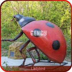 Высокое качество ручной работы модели Ladybugs Animatronic насекомых