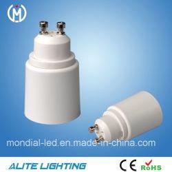 GU10&E27 Adaptador de la lámpara de porcelana de alta calidad/portalámparas con CE