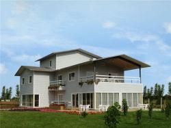 Lujo prefabricados de acero de calibre de la luz de la Villa para la construcción de viviendas