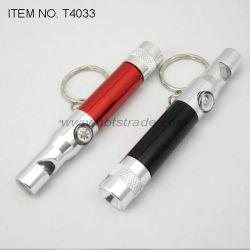 コンパス(T4033)が付いている笛LED Keychainライト