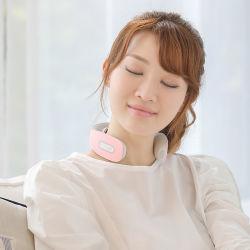 Sem fio portátil Office Electric Cervical EMS terapia inteligente aquecimento 3D Vibração Massageador Pescoço
