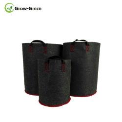"""De kweken-groene Houder die van de Zak van de Zaailing van de Installatie van de Pot van het Kinderdagverblijf Plastic de Tuin van het Huis van de Zak opheffen levert 10 Stukken van 8X8cm/3.15 """" X3.15 """""""