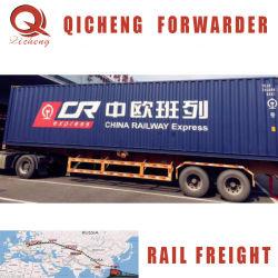 Envío de ferrocarril más barata y más barato el transporte ferroviario de China a Francia Europa Reino Unido, Alemania Amazon Fba