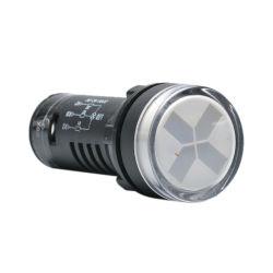 A luz indicadora do LED UTL para posição de Separação de isolamento