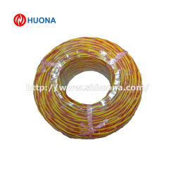 ANSI код цвета красный и желтый K тип кабеля термопары с из стекловолокна