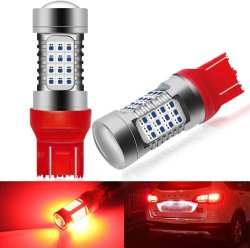 7443 7441 7444 992 T20 W21W 54-SMD mit Birnen des Projektor-Objektiv-12-24V für Auto Vehcile Bremsen-Licht-Endstück-Lichter