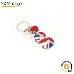 Schöne Schlüsselhalter aus Hängemetall für Vertrieb Ym1028
