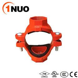FM/UL/Ceの承認の300のPsiの延性がある鉄によって通される機械十字