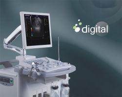 Het volledige Digitale Systeem van de Ultrasone klank van Doppler Gyn van de Kleur Zichtbare