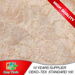 100% полиэстер сетка вышивка с борта и шифон ремень для одежды, декору и свадьбы