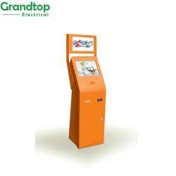 شاشة LCD تعمل باللمس قياس 19 بوصة محطة لشاحن الهاتف المحمول الحدث مع الإعلان و الممثل النقدي
