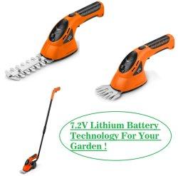 Super potente aparador de hedge de relva eléctricos sem fios/Shear/Cutter-Garden Power Tools
