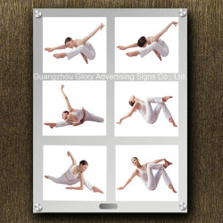 Sensor를 가진 마술 Mirror LED Advertizing Magic Mirror Light Box