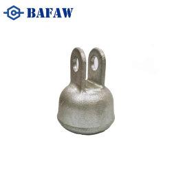 Isolateur de suspension couvercle en acier Matériel de ligne de puissance le chapeau de douille