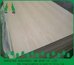Folheado de madeira enfrentados pelas cinzas da placa MDF//Sapeli Teca/Oak