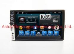 """7 het """" Dubbele OEM van DIN Universele Androïde GPS van de Auto Systeem van de Navigatie met de spiegel-Verbinding van WiFi Bluetooth de ReserveCamera van de Controle van het Stuurwiel"""