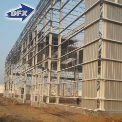 Certificados de garantia de qualidade Prefab Galvanizado Estrutura de aço leve a estrutura do prédio