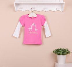 2013 de T-shirt van het Nieuwe van de Aankomst Bab van de Herfst van het Mamma en Lange Jonge geitje van de Kokers, de Katoenen van 100% Kleren van de Baby, de T-shirt van Kinderen